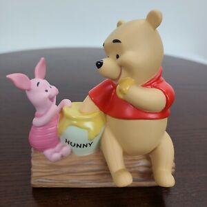 Vintage Pooh & Friends Friendship Day Figurine Ceramic Disney Winnie Piglet 1999