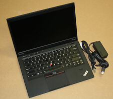 "Lenovo Thinkpad X1 Carbon i7-3667U 2.0GHz 8Gb 180Gb SSD 14"" LED Win7 Pro x64 #5B"