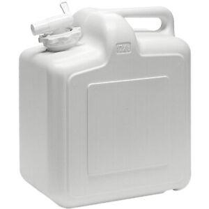 15L Wasser Kanister mit Hahn Wasserbehälter Trinkwasser Tank Kunststoff Kanister