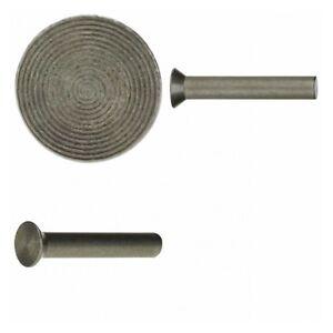 10x DIN 661 Senkniete 4x10 Kupfer CuNiSi blank