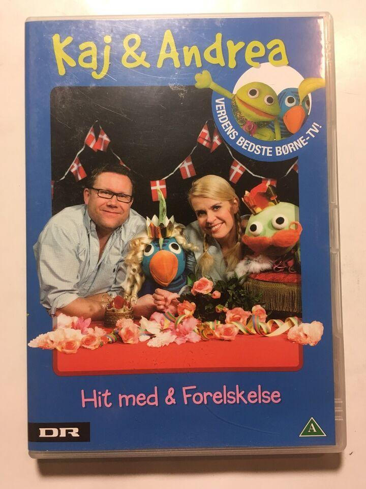 Kaj og Andrea Hit Med og Forelskelse, instruktør DR , DVD