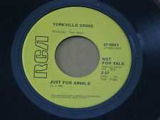 """YORKVILLE GRIND THREE RING CIRCUS RCA orig US GARAGE PSYCH 7"""" 45 NM HEAR"""