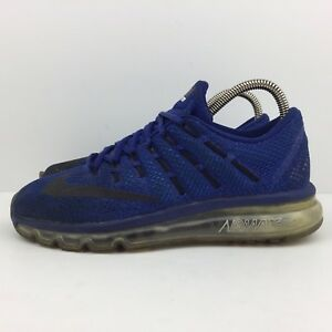 Details about Nike Air Max 2016 Blue Running Shoes Athletic Sneakers 806771 401 Men's Size 6.5