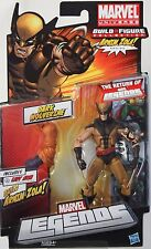"DARK WOLVERINE + BAF Arnin Zola ARM MARVEL LEGENDS 2011 6"" Inch ACTION FIGURE"