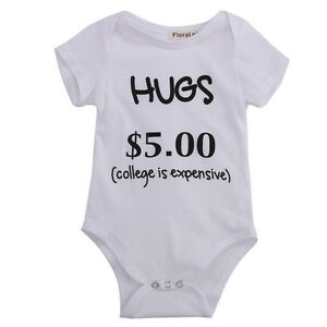 Newborn-Toddler-Baby-Boy-Girl-Bodysuit-Outfits-Funny-Romper-Cotton-Clothes-0-24M