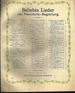 034-Aus-der-Jugendzeit-034-von-Robert-Radecke-uebergrosse-alte-Noten