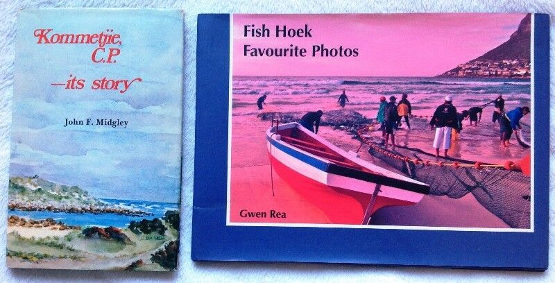 Two books - Kommetjie, C.P. - its story & Fish Hoek Favourite Photos