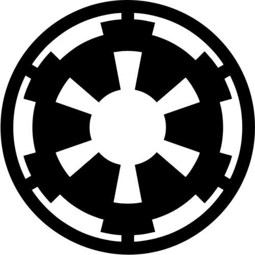 Star Wars Imperial Logo Vinyl Car Window Laptop Decal Sticker
