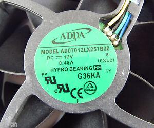 1pc-ADDA-DC-Cooling-fans-AD07012LX257B00-70x70x25mm-7025-12V-0-45A-4pin-wire