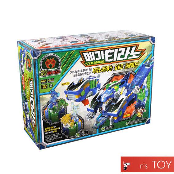 Dino Mecard MEGA MEGA MEGA TYRANNO Great Tyrannosaurus Transformer Dinosaur Car Slope Toy 2bd9bb