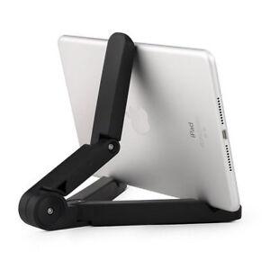Pieghevole-regolabile-per-tablet-Staffa-Supporto-per-Cellulare-iPad-PC-NUOVO