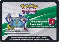 x1 Pokemon Unused Code ONLINE REWARDS Mewtwo EX Box - C74