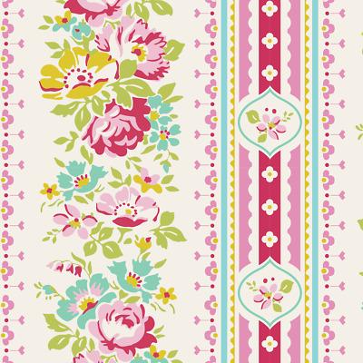 Craft Fabric metre//fat quarter Blue Cotton Fabric Tilda AppleButter Billy Jo