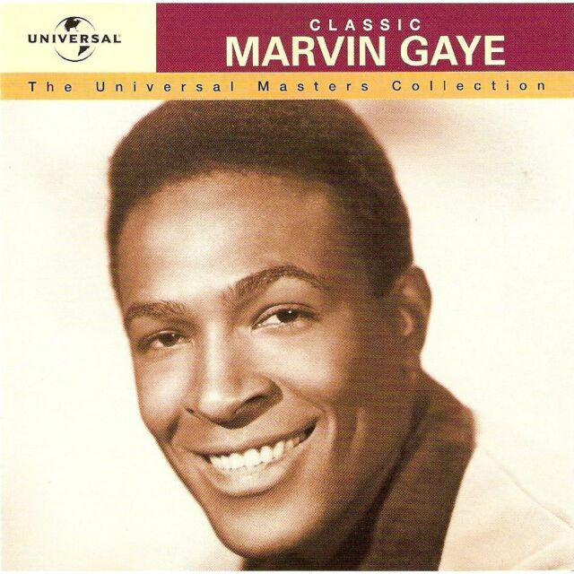 CD MARVIN GAYE - CLASSIC - UNIVERSAL MASTERS COLLECTION