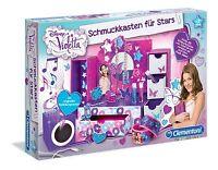 Clementoni Violetta Schmuckkasten Für Stars Bastelset Box Schmuckkästchen 98689