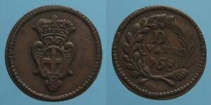 GENOVA-4-DENARI-1768-SPL