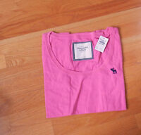 Abercrombie & Fitch Mandy Scoop Neck Pink Tee Top Large