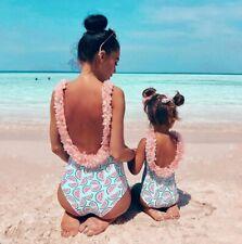 UK Stock Toddler Infant Baby Girls Watermelon Swimsuit Swimwear Swimming Bikini