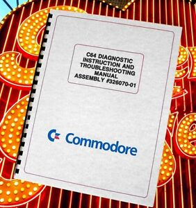 COMMODORE 64 C64 Computer Owners DIAGNOSTIC & TROUBLESHOOTING  Manual