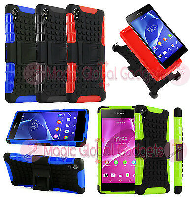HEAVY DUTY TOUGH SHOCKPROOF WITH STAND HARD CASE COVER FOR MOBILE PHONES TABLETS
