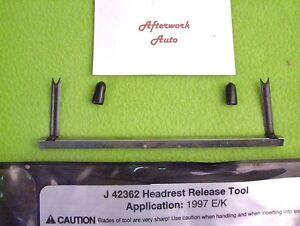 Kent Moore J-42362 Headrest Release Tool