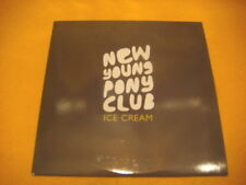 Cardsleeve Single CD NEW YOUNG PONY CLUB Ice Cream PROMO 1TR 2007 alt indie wave