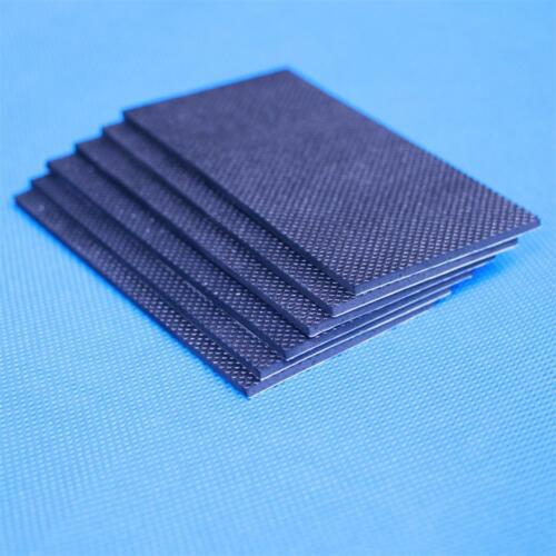 2PCS Non-Slip Rubber Pad with strong self-adhesive backing,100mmX50mmX2mm Thick