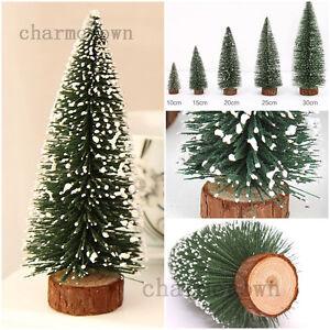 1pcs mini cute weihnachten baum weihnachtsbaum tannenbaum christbaum kiefer deko ebay - Deko baum weihnachten ...