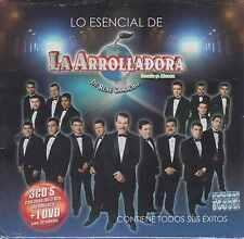 CD - Lo Esencial De La Arrolladora Banda El Limon 3 CD's / 1 DVD FAST SHIPPING !
