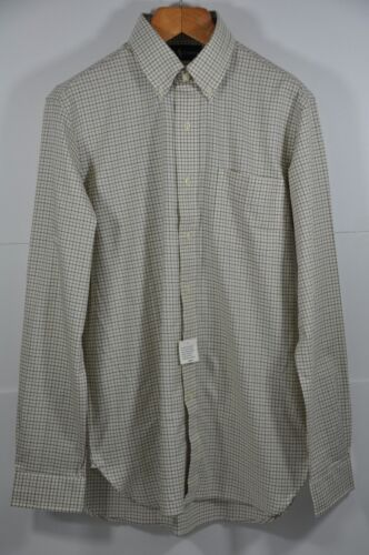 Size M Men/'s Polo Ralph Lauren Checker Mercerized-Cotton-Twill Pocket Shirt