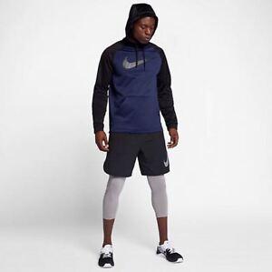 be7149a23e4b NWT Men s Nike Big   Tall Therma Training Hoodie Big Swoosh 905659 ...