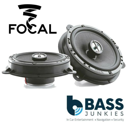 Renault Master 2010 On Focal ICRNS165 6.5 240W Coaxial Front Car Speakers