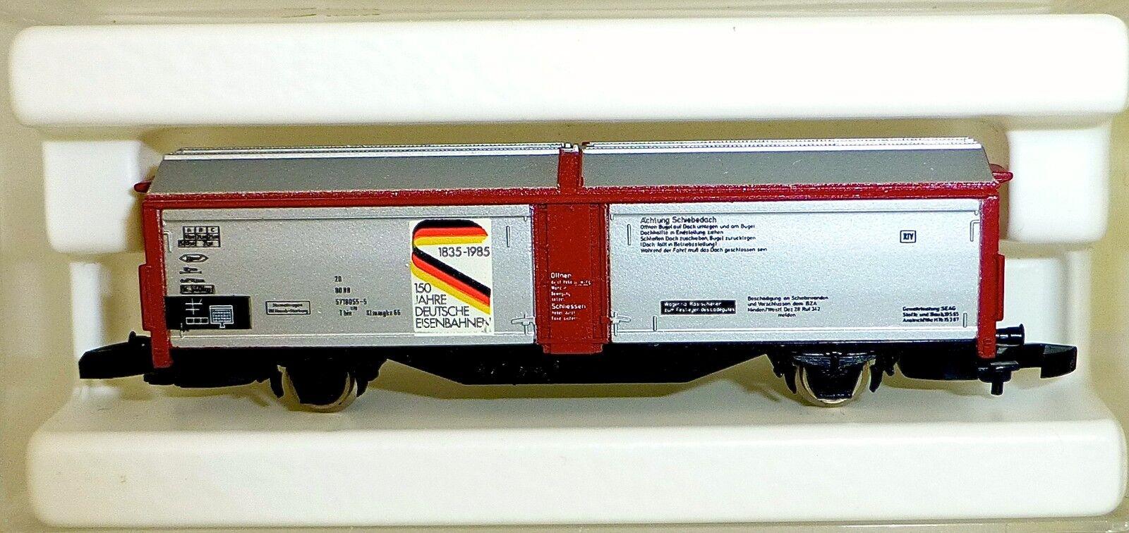 150 anni ferrovie tedesco parete scorrevoli carrello   Traccia Z 1:220 * 1054 * å