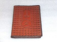 VINTAGE LEATHER WALLET-OLYMPIC GAMES, MOSCOW 1980, USSR