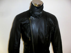 vintage-MODEKA-Motorradjacke-Bikerjacke-90s-Leder-Biker-90er-oldschool-punk-52