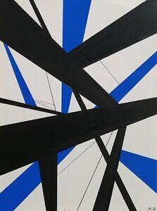 Tableau-abstrait-geometrique-contemporain-60-x-80-cm-Original-signe-A-G