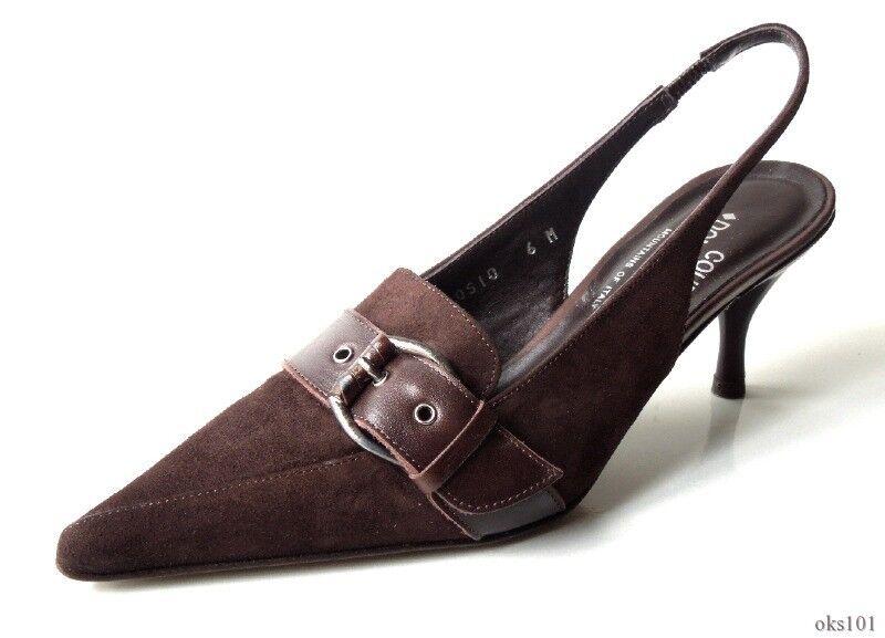 marchio famoso New DONALD J PLINER 'Rosio' 'Rosio' 'Rosio' Marrone suede classic scarpe  - very comfortable  una marca di lusso