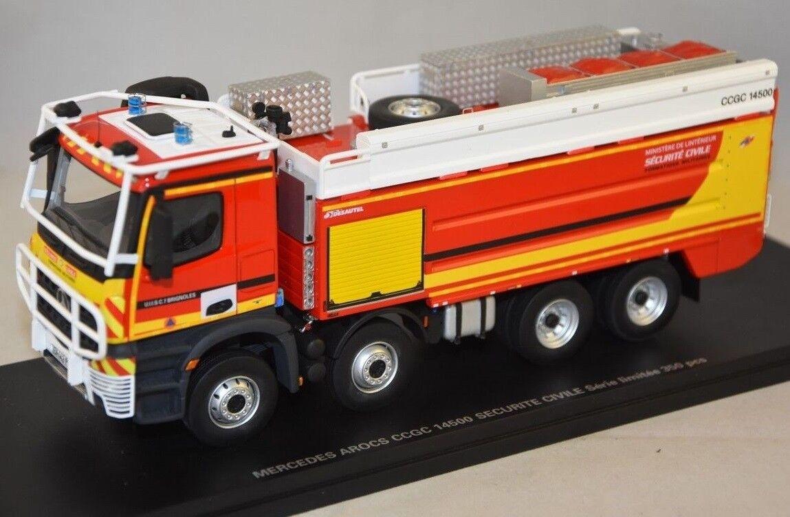 ALERTE0086 - Camion de pompier MERCEDES Arocs type CCGC Desautel Sécurité Civile