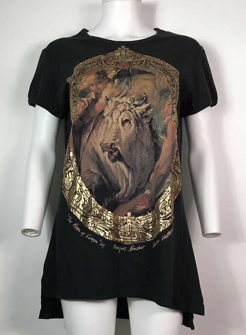Rare Vtg Vivienne Westwood 90s Black Gold Label B… - image 3