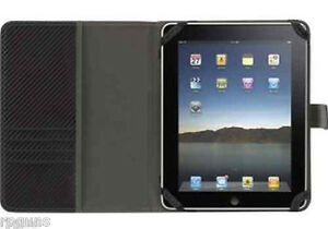 New-IPAD-2-3-Case-Folio-Griffin-Elan-Passport-Black-Graphite-FREE-STYLUS-amp-SHIP