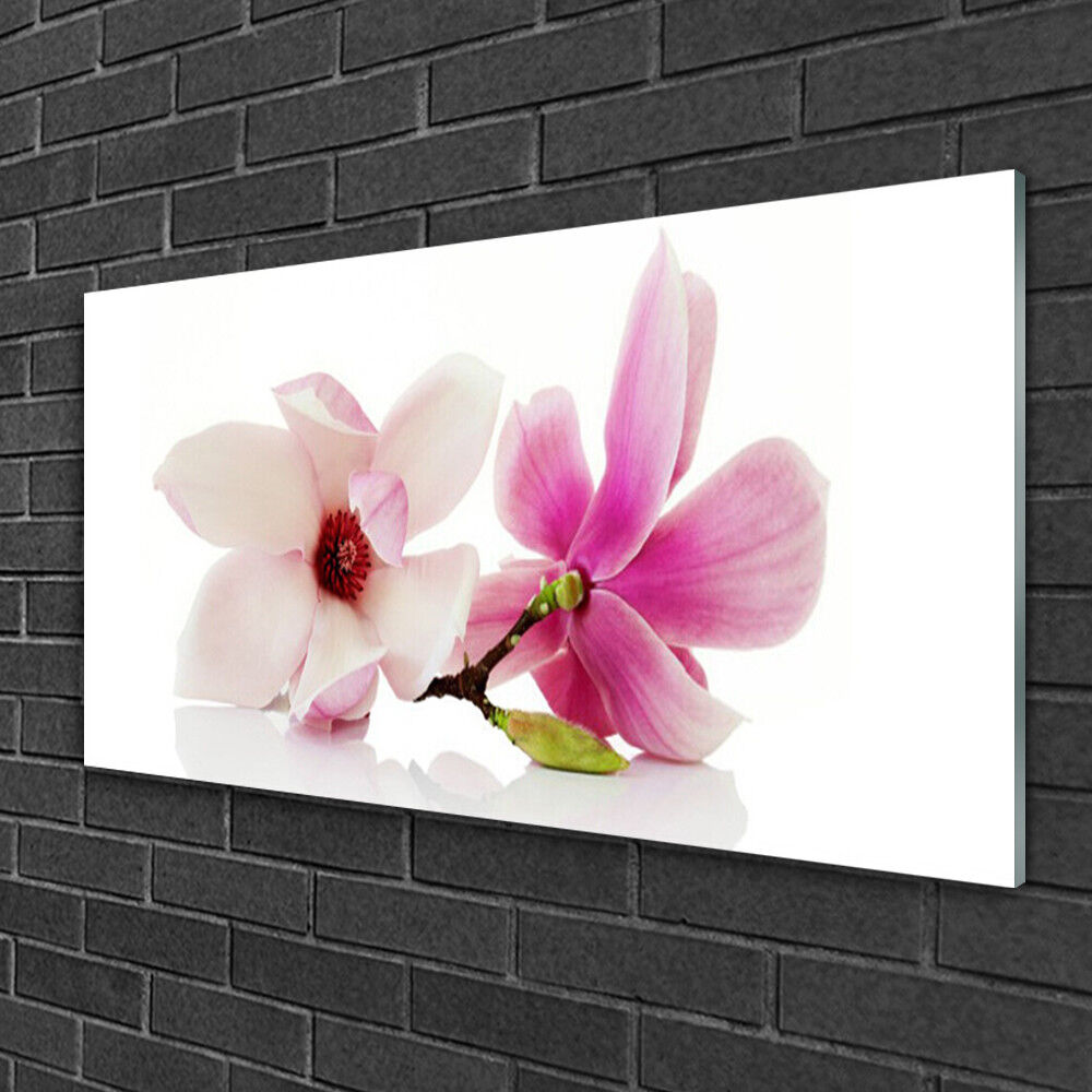 Acrylic print Wall art 100x50 Image Picture Flowers Floral