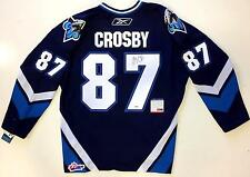 SIDNEY CROSBY SIGNED RIMOUSKI OCEANIC JERSEY PSA COA Y54652 PITTSBURGH PENGUINS