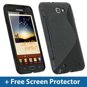 e9b6362aea33b2 Chargement de l image en cours Noir-Housse-Gel-TPU-pour-Samsung-Galaxy-Note-