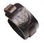Punk-Men-Women-Wide-Genuine-Leather-Belt-Bracelet-Cuff-Wristband-Bangle-Jewelry Indexbild 8