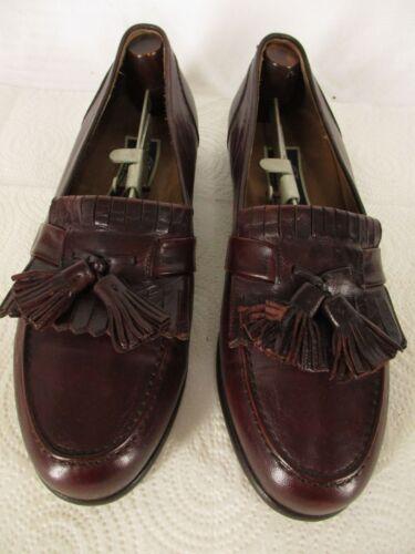 Cole Haan Bragano Mens Brown Kiltie Tassel Loafers