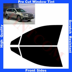 Pre-Cut-Window-Tint-Subaru-Outback-Legacy-Estate-5D-14-Front-Sides-Any-Shade