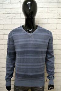 Maglione-Uomo-MARLBORO-CLASSICS-Taglia-XL-Pull-Pullover-in-Cotone-Sweater-Man