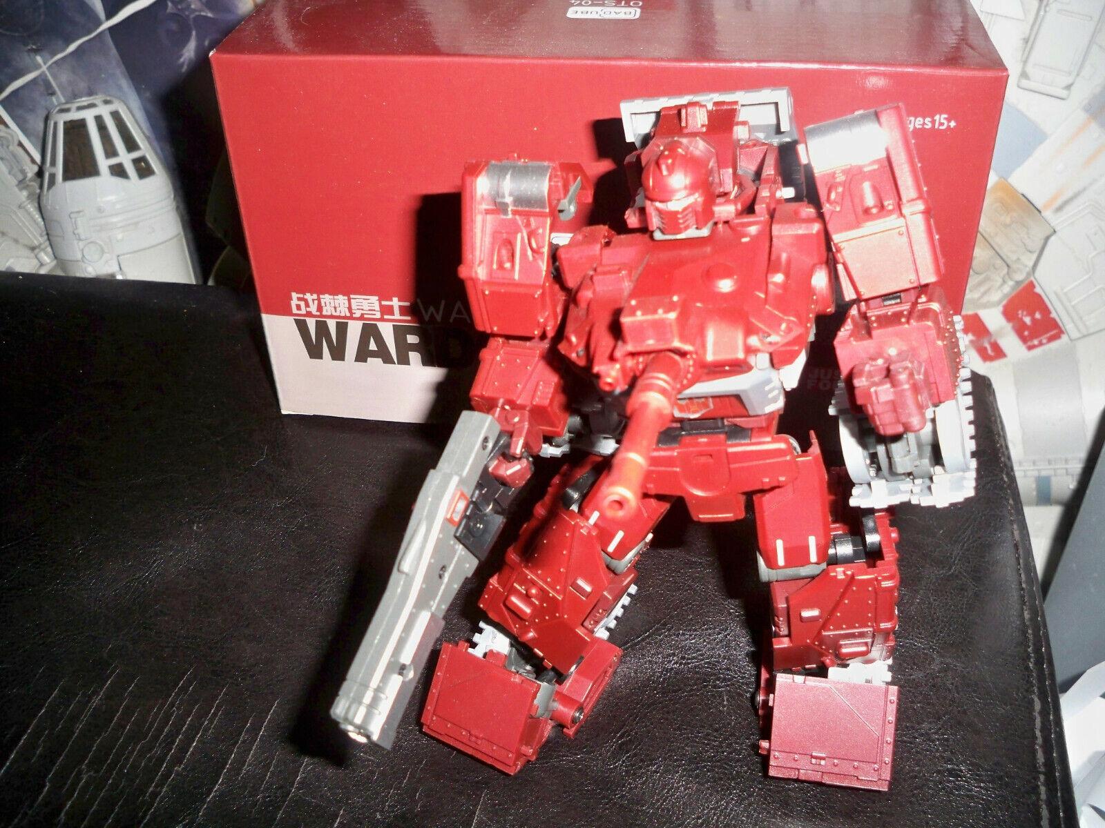 Transformers badcube wardog sentier de la guerre Masterpiece MP 3rd party complet