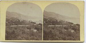 Menton Foto Louis-Alphonse Davanne di Carta Albume D'Uovo Vintage Ca