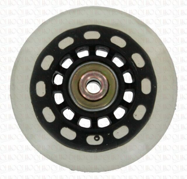 Replacement luggage 70mm Ball Bearing Soft Rollerblade Wheel